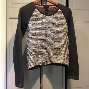 GAP Girls Sweater, size XXL , Grey &Sparkles